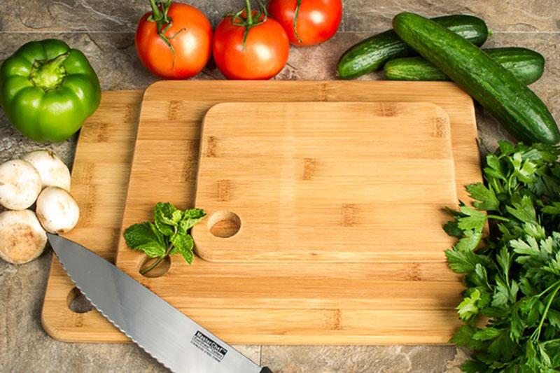 6 ضدعفونی و نگهداری تخته گوشت بامبو