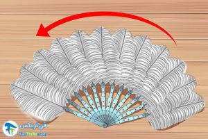 8 طرز ساخت بادبزن با پر