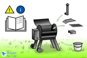 1 کباب پز زغالی برقی