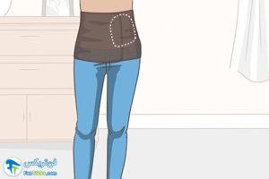 1 اصول پوشیدن لباس جهت پنهان کردن استومی