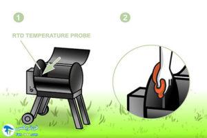 3 کباب پز زغالی برقی
