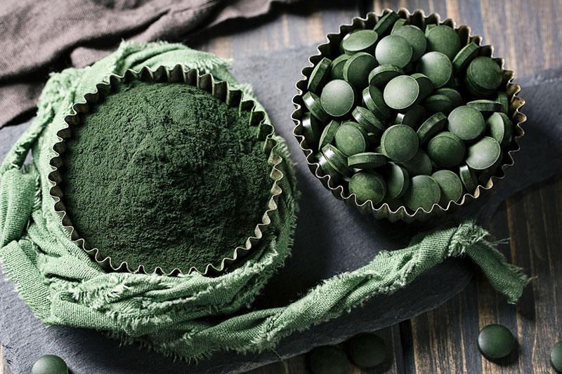 5 خواص و فواید جلبک اسپیرولینا