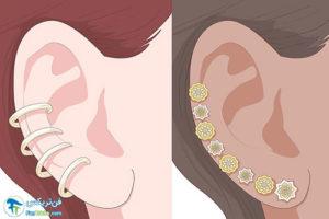 8 اصول ست کردن گوشوارهها