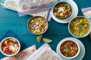 1 اصول صحیح فریز کردن سوپ