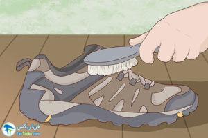 1 اصول مراقبت و تمیز کردن کفش مرل Merrell