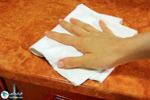 1 اصول تمیز کردن سطوح اپوکسی