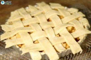 11 طرز تهیه پای سیب گیاهی