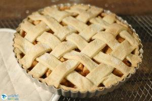 12 طرز تهیه پای سیب گیاهی