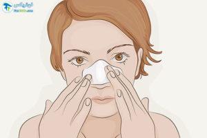 2 از بین بردن منافذ باز بینی