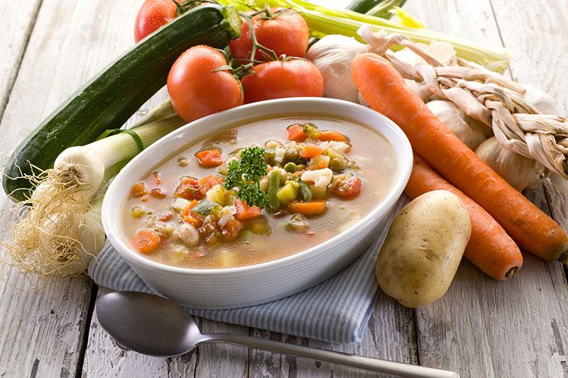 2 اصول صحیح فریز کردن سوپ