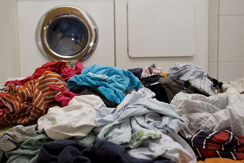 2 جلوگیری از چروک شدن لباس هنگام شستشو