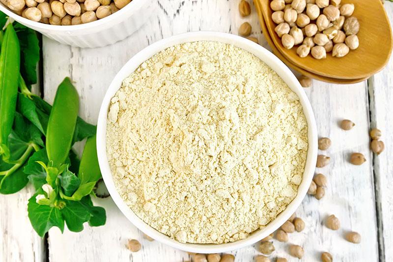 3 طرز تهیه پودر پروتئین نخود