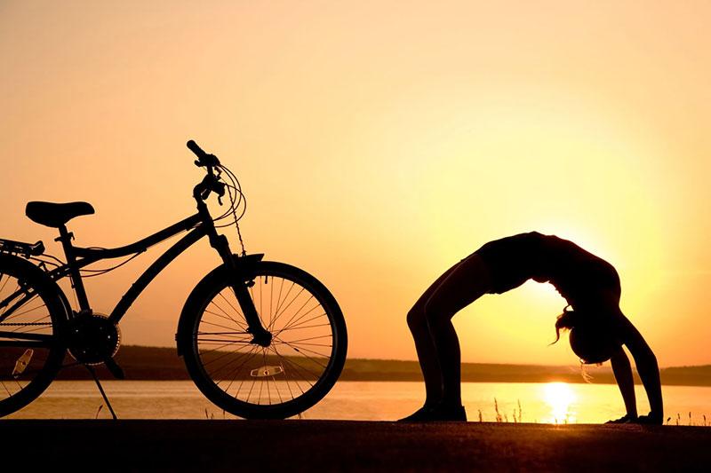 3 تمرینات یوگا مناسب دوچرخه سواران