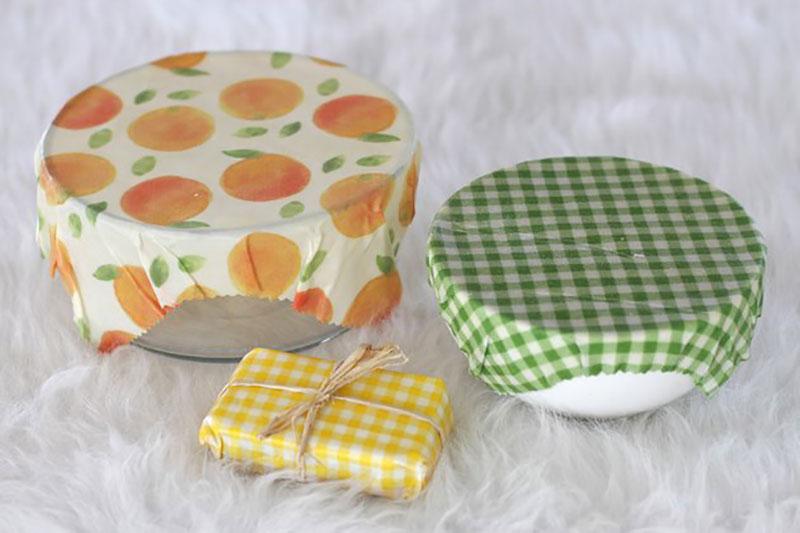 8 ساخت روکش برای ظروف بدون درب