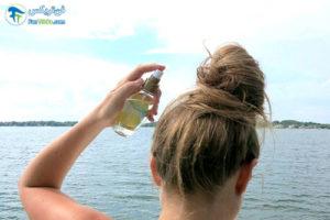 1 طرز ساخت اسپری روشن کننده مو
