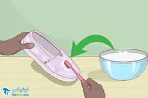 2 روش شستن کفش کالج پارچه ای