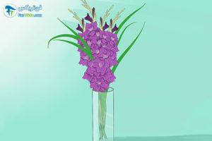2 تازه نگه داشتن طولانی مدت گل گلایول