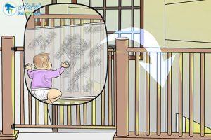 4 مراقبت از کودک هنگام چهار دست و پا رفتن
