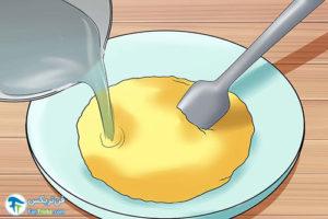 4 ساخت پودرتخم مرغ در منزل