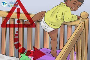 5 مراقبت از کودک هنگام چهار دست و پا رفتن