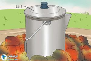 6 روش تهیه کافی روی آتش