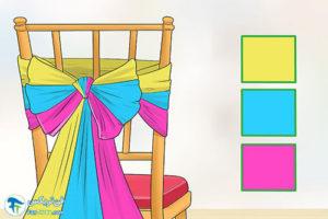 6 آموزش تزیین مبل با پارچه و تور
