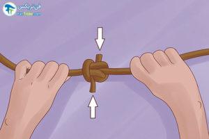 7 آموزش بستن گره زپلین