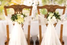 Photo of نحوه تزئین صندلی با استفاده از انواع پارچه و تور