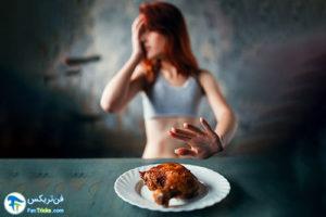 1 مقابله با کاهش وزن ناشی از استرس
