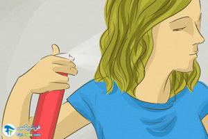 1 از بین بردن خشکی مو با گلیسیرین