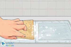 1 ضدعفونی و شستن دستگاه فشارسنج