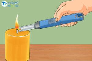 1 رفع مشکل سوختن شمع بصورت نامتقارن