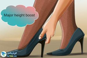 1 اصول انتخاب کفش جهت افزایش قد