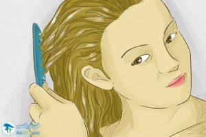 2 از بین بردن خشکی مو با گلیسیرین
