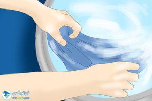 2 آموزش ضد حریق کردن لباس در منزل