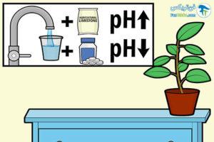 2 متعادل کردن و تنظیم پی اچ آب
