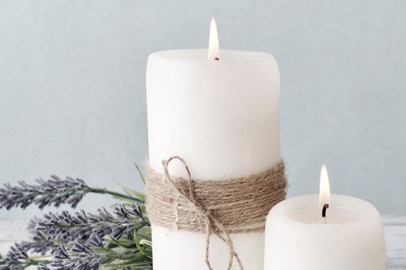 3 نحوه معطر کردن شمع بدون بو