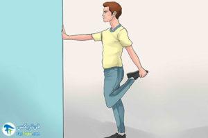 3 جلوگیری از گرفتگی عضلات با حرکات کششی