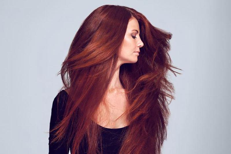 4 طرز ساخت رنگ مو با رنگ خوراکی
