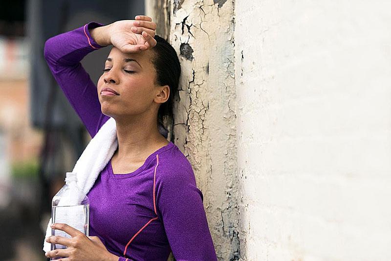 4 جلوگیری از استفراغ ناشی از ورزش