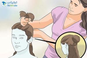 4 آموزش صاف کردن موهای کلاه گیس