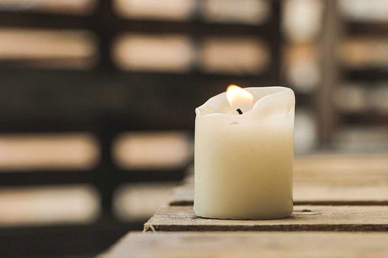 4 رفع مشکل سوختن شمع بصورت نامتقارن