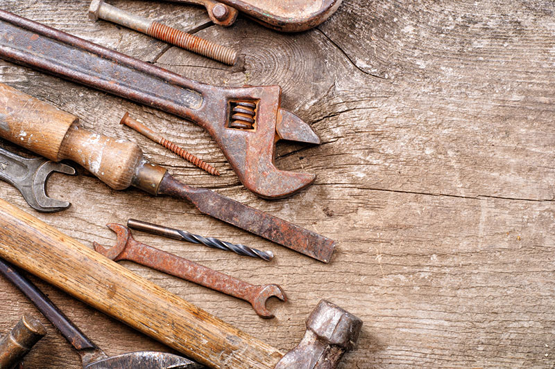 5 ضد زنگ کردن فلزات با زاج کاری