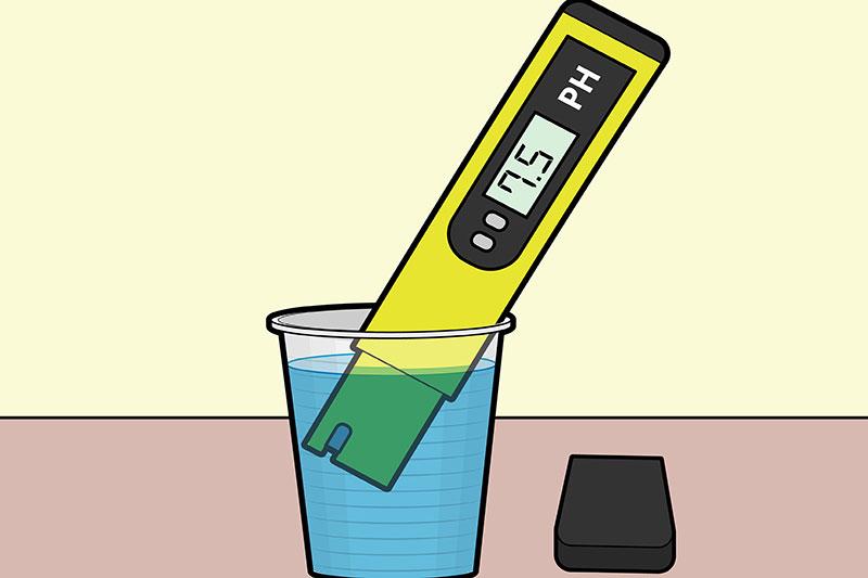 5 متعادل کردن و تنظیم پی اچ آب