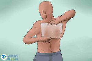 6 رفع خشکی پوست کمر با لوسیون