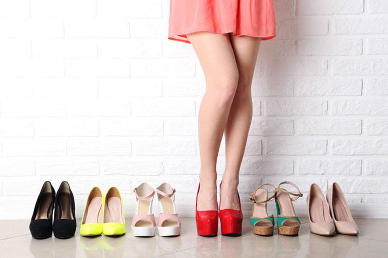 8 اصول انتخاب کفش جهت افزایش قد