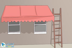 1 شستشو و تمیز کردن انواع سایبان
