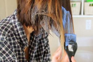 10 رنگ کردن موی کوتاه به روش آمبره