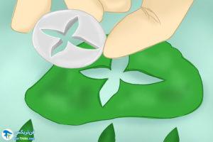 11 طرزساخت گلهای تزئینی با گام پیست