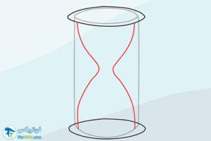 12 نحوه طراحی و نقاشی ساعت شنی